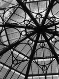 Glashaube-Fenster Stockfotografie
