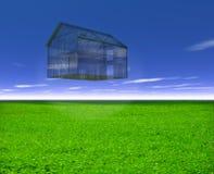 Glashaus vektor abbildung