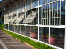 Glashaus Stockfotos