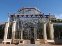 Glashaus in Adelaide Stockbild