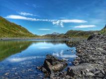 Glashelder bergmeer Royalty-vrije Stock Fotografie