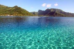 Glashelder water royalty-vrije stock fotografie