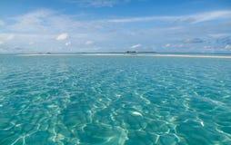 Glashelder water stock fotografie