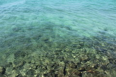 Glashelder water in Andaman Royalty-vrije Stock Afbeelding