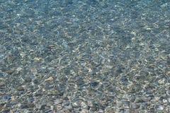 Glashelder zeewater Royalty-vrije Stock Fotografie