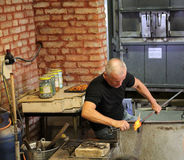Glasherstellung Stockbilder