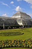 Glashuis bij Kew-Tuinen stock foto