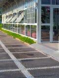 Glashus Arkivbild