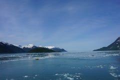 Glasier в Аляске в лете Стоковая Фотография RF