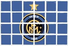 Glasig-glänzende Fliesen Inter- de Milao Lizenzfreie Stockbilder
