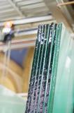 Glasindustrie Lizenzfreies Stockbild
