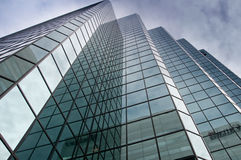 Glaskontrollturm Stockfotografie