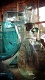 Glaskruiken royalty-vrije stock afbeelding