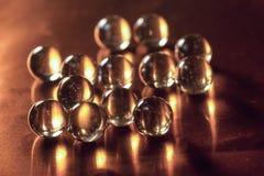 Glaskugeln Stockfoto