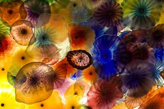 Glaskunst Stockfoto
