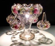 Glaskunstmittelstück Lizenzfreies Stockfoto