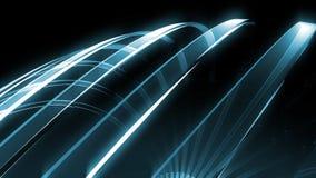 Glaskurven-Hintergrund lizenzfreie abbildung