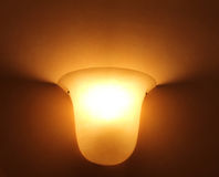 Glaslamp royalty-vrije stock foto's