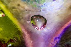 Glasluftblase Lizenzfreies Stockfoto