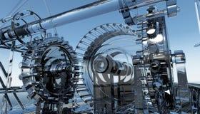 Glasmachine stock illustratie