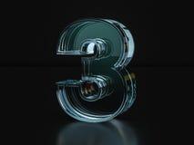 Glasnr. drei Lizenzfreie Stockfotografie
