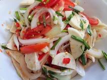 Glasnudel-würziger Salat Yum Woon Sen, Lebensmittel für bewusste Leute der Gesundheit Stockfoto