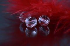 Glasparels stock afbeeldingen