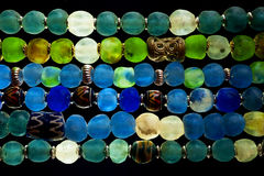 Glasperlen Stockfotografie