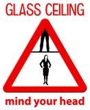 Glasplafond vector illustratie