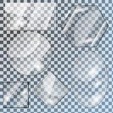 Glasplatten Lizenzfreies Stockbild