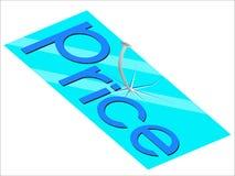 Glasplattenpreis Lizenzfreie Stockbilder
