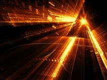 Glasportaal - abstract digitaal geproduceerd beeld Stock Afbeelding