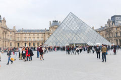 Glaspyramide Lizenzfreies Stockbild