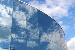 Glasreflexion lizenzfreies stockbild