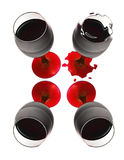 Glass´s of wine Royalty Free Stock Photography