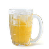 Glass öl Arkivbild
