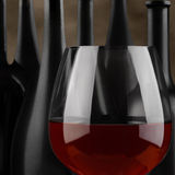 Glass 0f Wine Closeup Royalty Free Stock Photo