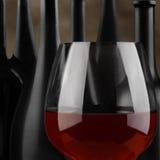 Glass 0f Wine Closeup Royalty Free Stock Photo