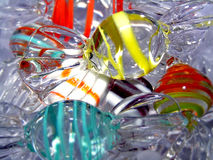 Glass. Closeup shot of glass decorations Royalty Free Stock Photography