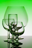 Glass. Background can use the Internet, print advertising and design Royalty Free Stock Image