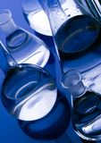 Glass. A laboratory is a place where scientific research and experiments are conducted. Laboratories designed for processing specimens, such as environmental Royalty Free Stock Image