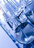 Glass. A laboratory is a place where scientific research and experiments are conducted. Laboratories designed for processing specimens, such as environmental Stock Photography