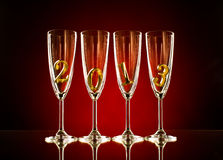 Glass 2013 Royalty Free Stock Images