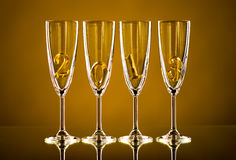Glass 2013 Royalty Free Stock Image
