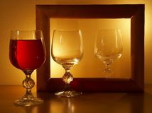 Glass royalty free stock photos