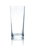 Glass. Empty glass  on white Royalty Free Stock Photos