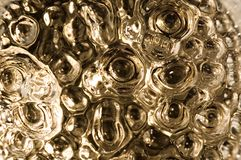 Glass. Bottom of a glass royalty free stock images
