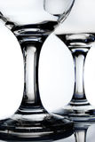 Glass. Wine glass on white background Royalty Free Stock Photos