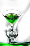 Glass of absinthe Royalty Free Stock Photos