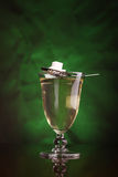 Glass of absinthe Royalty Free Stock Images